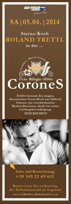 Gourmetevent Roland Trettl auf der Coroneshütte, Kronplatz Südtirol - Sponsered by Rotwild.it-2 Star Wars, Movie Posters, Movies, Top, Guys, 2016 Movies, Film Poster, Films, Popcorn Posters