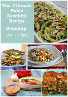 Here it is! The Ultimate Paleo Zucchini Recipe Roundup! Look no further than this extensive list for ways to use up that zucchini!
