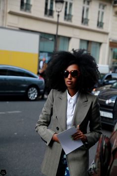 """cgstreetstyle: """" Julia Sarr Jamois by Claire Guillon """""""