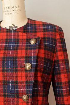 Vintage Pendleton Tartan Wool Suit