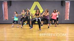 Oh my goodness! If this doesn't get you up and dancing. This crowd-pleasing throw back is 2 and a half minutes of ADRENALINE and FUN! Zumba Workout Videos, One Song Workouts, Zumba Videos, Dance Videos, Fun Workouts, Dance Workouts, Zumba Songs, Dance Exercise, Dance Moves