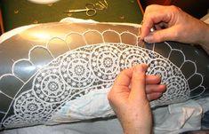 Amazing Pag lace (croatia)