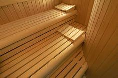 wooden design sauna http://www.sopra.de/wellness/saunabau/