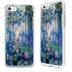 Gadget Zoo Classic Art Collection Water lilies Monet Famous Artist Painting Range Phone Case Hard Cover For iPhone 6  6s White -- Read more reviews of the product by visiting the link on the image. (Note:Amazon affiliate link)