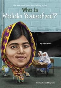 "Read ""Who Is Malala Yousafzai?"" by Dinah Brown available from Rakuten Kobo. Malala Yousafzai was a girl who loved to learn but was told that girls would no longer be allowed to go to school. Malala Yousafzai, New Children's Books, Great Books, Mighty Girl Books, Nobel Peace Prize, Book Series, Audio Books, Penguin, Childrens Books"