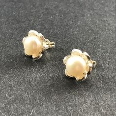 Mediterranean Petite Pearl Earrings by NaxiDesigns on Etsy New item as part of our pearl filigree collection. We accept and look forward to provide custom orders with variations of stones for this type of earring as well as make variations of necklaces.