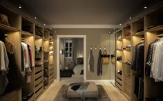 Take out walls and make dressing room with IKEA PAX - Home decor and design Walk In Closet Ikea, Walk In Closet Design, Closet Designs, Closet Bedroom, Home Bedroom, Closet Doors, Pax Closet, Attic Closet, Walking Closet