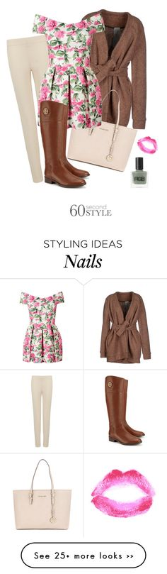 """""""Off-Shoulder Dress"""" by haleymcisaac on Polyvore featuring Joseph, Alice San Diego, Michael Kors, Tory Burch, Topshop, RGB, contestentry and offshoulderdress"""
