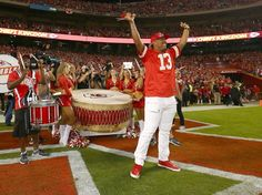 Photos from pregame warmups and activities during the Chiefs Week 4 matchup against the Redskins Kansas City Royals, Media Center, Photo Galleries, Fan, In This Moment, Gallery, Sports, Hs Sports, Roof Rack