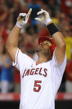 Albert Pujols I love when he does this:)