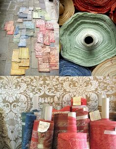 L'OBJET | Blog | FORTUNY... Fabric at the Fortuny Factory