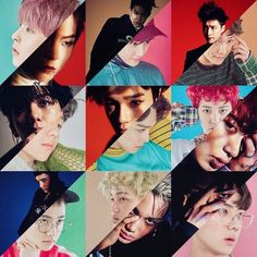 EXO 엑소 Lucky One & Monster | 첸 Chen | 카이 Kai | 백현 BaekHyun | 수호 Suho | 시우민 XiuMin | 디오 D.O | 찬열 Chanyeol | 레이 Lay | 세훈 Sehun