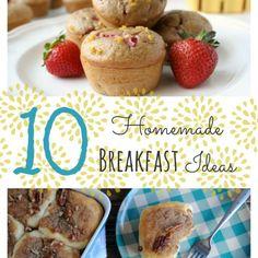 10 Homemade Breakfast Ideas - White Lights on Wednesday