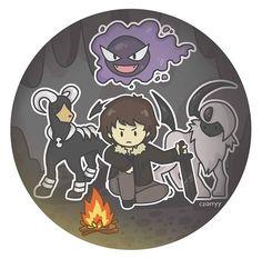 Demigods and their pokemon !   by czarryy #PJO