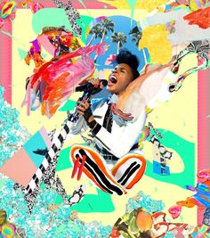 Quirky Digital Collages of Contemporary Hip Hop Artists – Fubiz Media