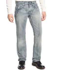 INC International Concepts Cohen Berlin Slim-Straight Jeans