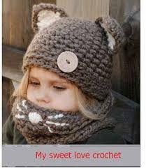 bufandas y cuellos tejidos niña - Buscar con Google
