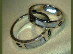 Elk Ivory His and Hers custom | View Custom Jewelry from Sandy's Jewelry | Holdrege, NE