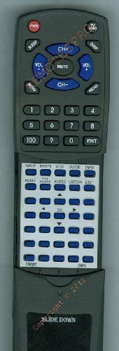 SANYO Replacement Remote Control for CS90283T, DP42410, DP55441, LCD26E3, LCD32E3 by Redi-Remote. $43.99. This is a custom built replacement remote made by Redi Remote for the SANYO remote control number CS90283T.  This remote control is compatible with the following models of SANYO units:   CS90283T, DP42410, DP55441, LCD26E3, LCD32E3, LCD32E35, LCD42E3