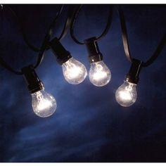 PRIKKABEL 10 HELDERE LAMPEN E27 KONSTSMIDE FEESTVERLICHTING