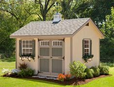 Are you looking garden shed plans? I have here few tips and suggestions on how to create the perfect garden shed plans for you. Garden Shed Kits, Diy Shed Kits, Storage Shed Kits, Shed Ideas, Diy Storage, Outdoor Storage, Barn Storage, Ideas For Shed Colours, Roof Storage