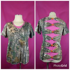 Hey, I found this really awesome Etsy listing at https://www.etsy.com/listing/259093841/realtree-camo-shirt-shredded-shirt