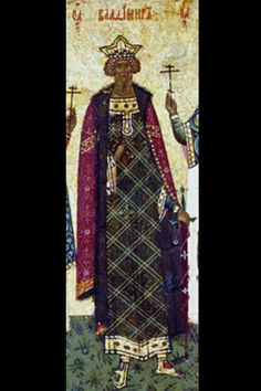 Vladimir Sviatoslavich the Great c. 958 – 15 July 1015, was a prince of Novgorod, grand prince of Kiev, and ruler of Kievan Rus' from 980 to 1015. According to the Primary Chronicle, he founded the city of Belgorod in 991. In 992 he went on a campaign against the Croats, most likely the White Croats that lived on the border of modern Ukraine. Vladimir continued to expand his territories capturing Polotsk and Smolensk and taking of Kiev in 978 where he was proclaimed knyaz of all Kievan Rus.