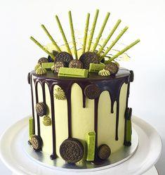 Shelley @lottieandbelle Green Tea Oreo cake...Instagram photo | Websta (Webstagram)