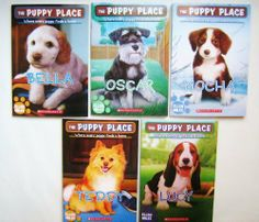 The Puppy Place 5-book Pack: Bella, Oscar, Mocha, Lucy and Teddy (The Puppy Place) by Ellen Miles, http://www.amazon.com/dp/054554923X/ref=cm_sw_r_pi_dp_v1A0sb0X9CDZC