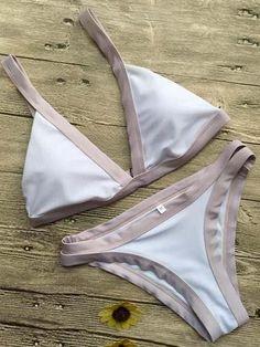 5570817633db5 Chicnico Ecstatic Sexy Two Pieces Swimsuit Bikini Set
