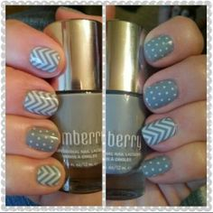 Chevron grey nails jamberry nails nail art nail wraps www.imaginethatnails.jamberrynails.net
