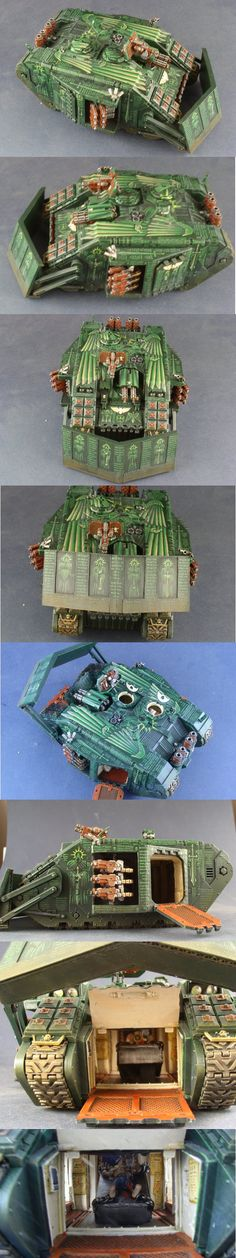 Dark Angels Land Raider Crusader Pre-Heresy style