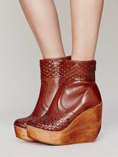 Free People Rys Wedge Boot, $220.00