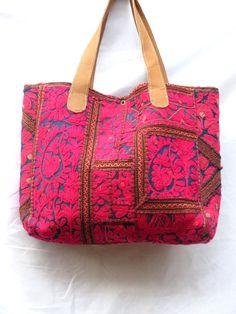 Indian Vintage Hand Embroidery Bag Trible Purse Gujarati Kutchi Bag Tote Hobo Bag Messenger Bag Women Handmade Shoulder Bag on Etsy, $64.81