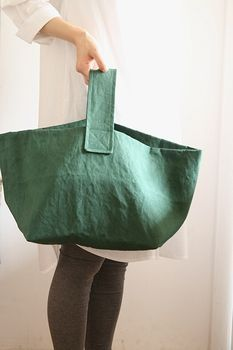 CHECK Sacs Tote Bags, Diy Sac, Craft Bags, Linen Bag, Fabric Bags, Shopper Bag, Cloth Bags, Handmade Bags, Bag Making