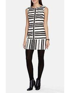 Bold Stripe Shift Dress