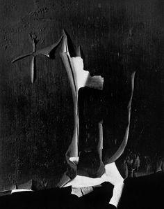 Minor White, Peeled Paint, Rochester, New York, 1959