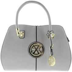 8c5af45bb2a35 Christian Lacroix Womens Faustine Faux Leather Convertible Tote Handbag