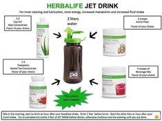 Herbalife Jet Drink!