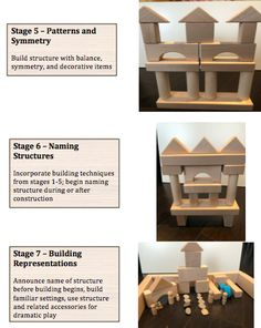 Blocks, Blocks and more Blocks: Essential Materials for Play and Learning – Technology Rich Inquiry Based Research Preschool Readiness, Teaching Kindergarten, Learning Tools, Early Learning, Preschool Block Area, Construction Theme Preschool, Country School, Block Center, Block Play