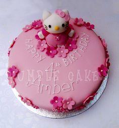 Hello Kitty Cake by YellowBeeBakery