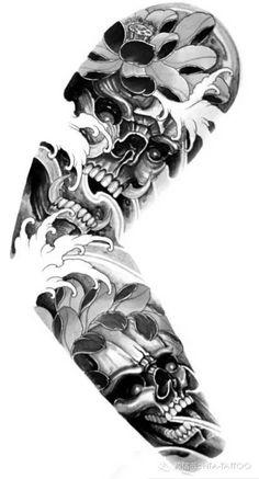 Tattoo sleeve design