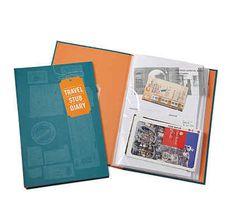 Or, alternatively, a travel stub diary ($15).