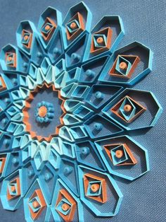 Imagination is the beginning of creation...: Geometric quilled Medallion - by: Aurelia-Russian Quiller http://aurelia-creations.blogspot.com/search/label/quilling