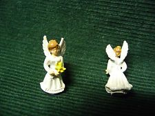 # 123 Miniatura Dollhouse 1/144th Escala boneca anjo de menina Flor Jardim Fada