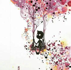 Fabulous Watercolor Paintings by Luqman Reza Mulyono - Jongkie, Indonesian Artist
