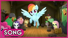 Time To Be Awesome (Song) - My Little Pony: The Movie [HD] All Songs, Best Songs, Max Martini, My Little Pony Movie, Mlp Comics, Piano Man, Mlp Pony, Daft Punk, Fluttershy