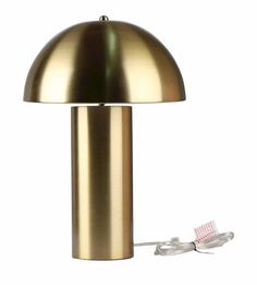 the fashion magpie brass table lamp target