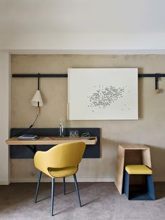 Modern, vintage, or even eclectic, your office should be inspiring. See some decor tips for your home office, here: http://www.pinterest.com/homedsgnideas/