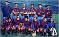 Equipos de fútbol: BARCELONA contra Real Madrid 09/03/1969